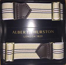 Latest Release ALBERT THURSTON Adjustable Elastic ARMBANDS for shirt sleeves