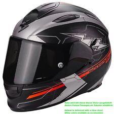 Scorpion EXO-510 AIR CROSS Motorrad Integralhelm Touring - matt schwarz silber r