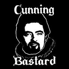Blackadder T-shirt Cunning Bastard funny TV cult comedy The Black Adder