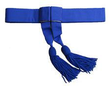 Sash Police Sash, Waist Belt, Royal Blue Waist Sash R800