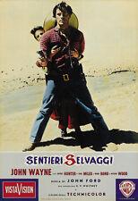 The Searchers (1956) Natalie Wood John Wayne movie poster print 3