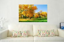 3D Yellow Tree 409 Wall Stickers Vinyl Wall Murals Print AJ WALLPAPER CA Carly