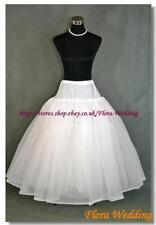 Mutli-Layers Net Prom Underskirt/Wedding Bridal Peticoat/Hoop free Crinoline