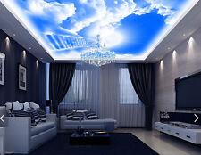 3D Blauer Himmel Wolke 535 Fototapeten Wandbild Fototapete BildTapete DE Kyra