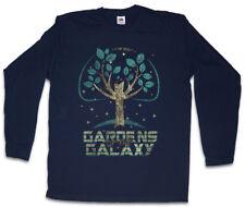 GARDENS OF THE GALAXY HERREN LANGARM T-SHIRT Guardians Fun Groot Baby Tree Baum