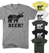 Herren T-Shirt Deer und Bär ist Beer Fun Party Club Neu S-5XL BE1217