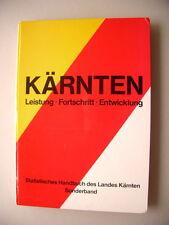 Kärnten Leistung Fortschritt Entwicklung Statistisches Handbuch Kärnten 1979