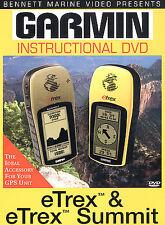 Garmin GPS Instructional DVD eTrex & eTrex Summit