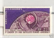 SPAZIO: SATELLITI - SATELLITE COMORO ISLANDS 1962