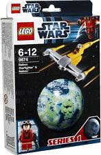 Lego Star Wars 9674 Naboo Starfighter & Naboo pianeta Serie 1 nuovo