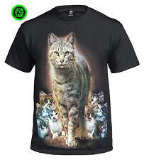 Cat Kittens T-Shirts/Mens/Ladies/Kids /Cats/Cute/Kitty/Biker/Fun ny/Wild/Top/Tee