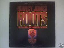 Roots - 1977-Quincy Jones -TV Mini-Series-Original Soundtrack-Record  LP