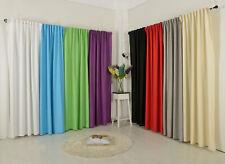 Vorhang Schal Schlaufen blickdicht Leinen Optik Chenille Streifen -204400-