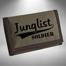 Junglist Soldier Wallet Jungle Drum n Bass Stevie Hyper D Old Skool Rave Legend
