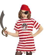 Costume Carnevale Pirati Maglietta Bandana Benda Occhio PS 26373
