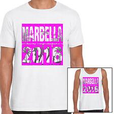 grabmybits - Marbella 2016 vacances T Shirt et gilet, Marbs