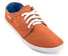 GLOBE red belly terracotta/cyan sneakers shoes man scarpe da skateboard uomo  _