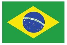 Bandiera Brasile -Stikers - Adesivo-Decorazione auto moto casa veicoli