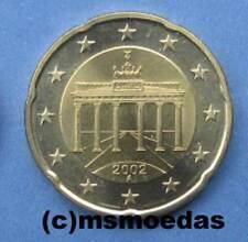 Deutschland 20 Euro-Cent Münze Euromünze coin Prägejahr Prägestandort Auswahl