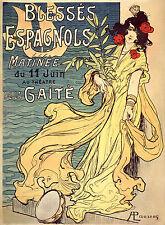 Vintage French Art Nouveau Shabby Chic Prints /& Posters 126 A1,A2,A3,A4 Sizes