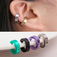 ORECCHINO METALLO SENZA FORO, BUCO A CLIP - Titanium Fake Piercing Ear
