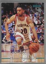 1995 Classic Rookies #DAST Damon Stoudamire University of Arizona Wildcats Auto