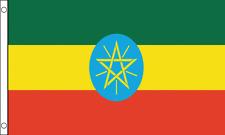 Ethiopia Flag Choice of Polyester 5x3' 3x2', Hand Flag, Table Flag.Free P&P