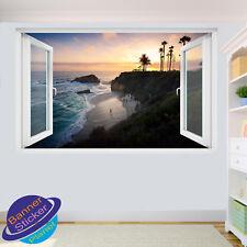 LAGUNA BEACH CALIFORNIA Tramonto stanza ufficio POSTER Wall Stickers Art Murales VH1