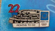COUNTDOWN 22 MONTHS TO GO (ENGLISH) PHILIPPIEION OLYMPIA-ATHENS 2004 OLYMPIC PIN