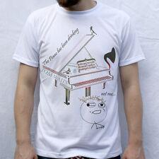 El Piano ha estado bebiendo diseño Camiseta Tom Waits