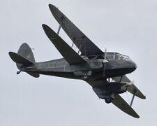 Giant 1/6 Scale British de Havilland DH 89 Rapide Biplane Plans,Templates