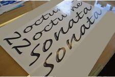 FLEETWOOD Sonata Model Caravan Name Stickers Decals Graphics - SET OF