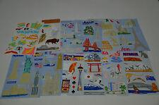 Mrs. Grossman Vacation Stickers You Choose Hawaii, Japan, DC, Rome, Paris, Vegas