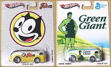 Hot Wheels HAULIN' GAS Pop Culture FELIX/GREEN GIANT