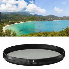 Polarizer Camera Lens Filter PL 25/27/28/30/30.5/34/35.5/37.5/40.5/43/46 mm