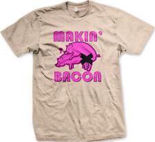 Makin Bacon Pigs Sex Intercourse Joke Food Porn Delicious Having Men's T-Shirt