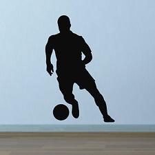 Autocollant Mural Football-contrôle de balle silhouette wall sticker