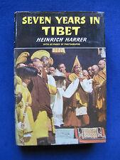 SEVEN YEARS IN TIBET - SIGNED TWICE by HEINRICH HARRER