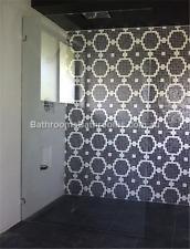Frameless Shower Panel Sizes: 900/1000/1100/1200/1300 10mm Toughened Glass