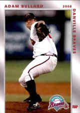 2008 Danville Braves Grandstand 2 Adam Bullard Greenville South Carolina SC Card