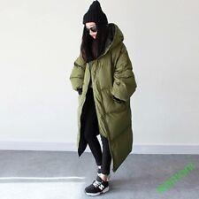 Winter Women Puffer Hooded Long Warm Padded Ouerwear Coat Thicken Cotton Jacket1