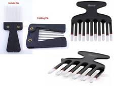 1 Piece Metal Travel Foldable Pik Comb or Double Pik