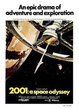 2001:  A SPACE ODYSSEY STANLEY KUBRICK A. CLARKE SCI FI A3 MOVIE POSTER RE PRINT