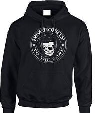 Psychobilly Hoody Biker Men's Rocker Hoodie Sweatshirt Rock And Roll Punk Rock &