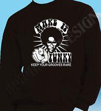 Funk Sudadera Soul Jazz Funky 70 Rara De Groove Fusion Para Hombre R&B Original 80's