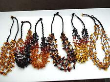 5-line Baltic Amber Ketten - Wähle deine Farbe