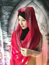 Muslim Women Long Scarf Hijab Islamic Shawls Underscarf Head Wrap Scarves Stole