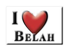 SOUVENIR UK - ENGLAND FRIDGE MAGNET UNITED KINGDOM I LOVE BELAH (CUMBRIA)