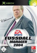 (Xbox) Fußball Manager 2004 - NEU