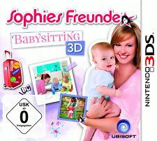 Sophies Freunde: Babysitting 3D (Nintendo 3DS, 2013, Keep Case)